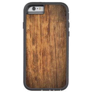 Pared de madera vieja funda de iPhone 6 tough xtreme