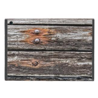 Pared de madera vieja iPad mini protectores