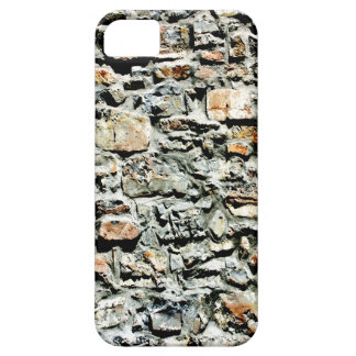 pared de piedra 3D iPhone 5 Fundas