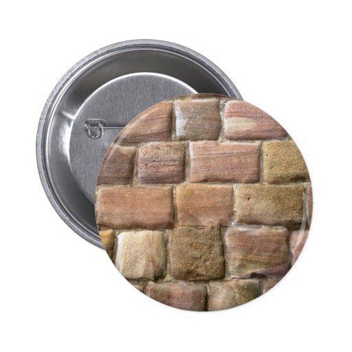 Pared de piedra en abadía de las fuentes pin redondo 5 cm
