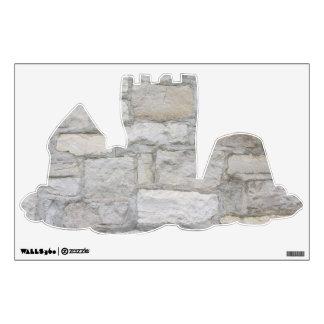 Pared de piedra gris vinilo adhesivo