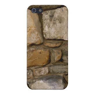 Pared de piedra iPhone 5 carcasa