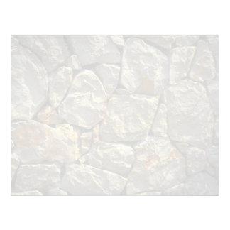 Pared de piedra plantillas de membrete
