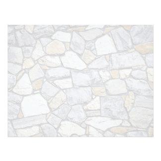 Pared de piedra membrete