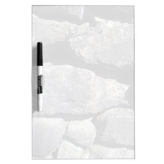Pared de piedra pizarras blancas de calidad