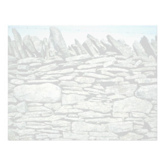Pared de piedra seca membrete