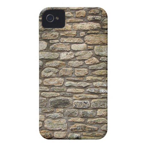 Pared de piedra vieja Case-Mate iPhone 4 funda
