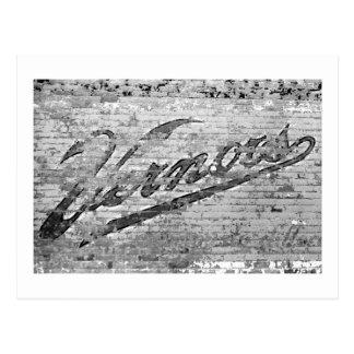 Pared de Vernors - Ann Arbor Michigan Tarjeta Postal