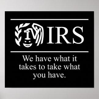 Pared del arte gráfico del IRS 24 95 Poster