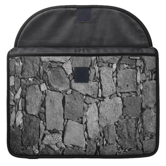 Pared del basalto fundas macbook pro