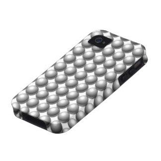 Pared del caso del iPhone 4 de las esferas Case-Mate iPhone 4 Funda