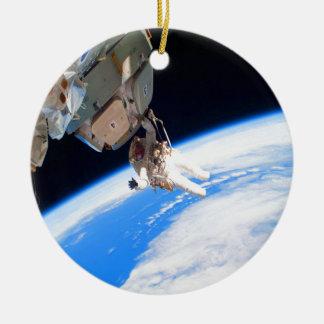 pared del espacio del astronauta de la confianza y adorno redondo de cerámica