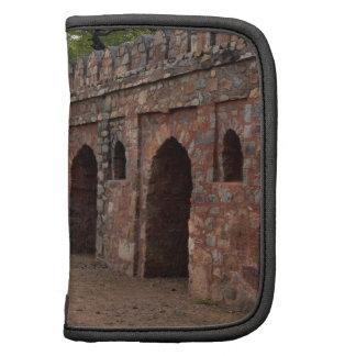 Pared dentro de la tumba de Humayun histórico Planificadores