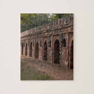 Pared dentro de la tumba de Humayun histórico Rompecabezas Con Fotos