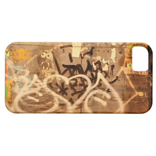 Pared en grunge, New York City de la pintada iPhone 5 Case-Mate Cárcasas