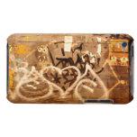 Pared en grunge, New York City de la pintada iPod Touch Case-Mate Fundas