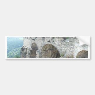 pared histórica pegatina para auto