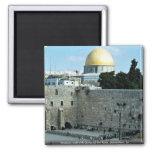 Pared occidental con la bóveda de la roca, Jerusal Iman