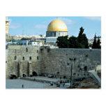 Pared occidental con la bóveda de la roca, Jerusal Postales
