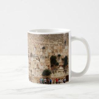 Pared occidental del templo taza de Jerusalén Is