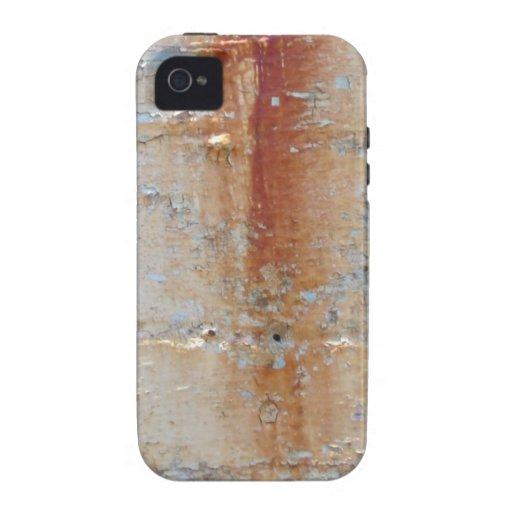 Pared oxidada iPhone 4 funda