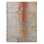Pared oxidada libro de apuntes