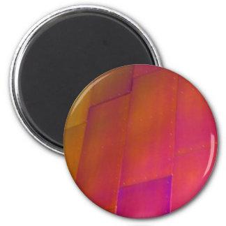 Pared rosada imán redondo 5 cm