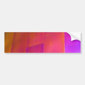 Pared rosada pegatina para auto