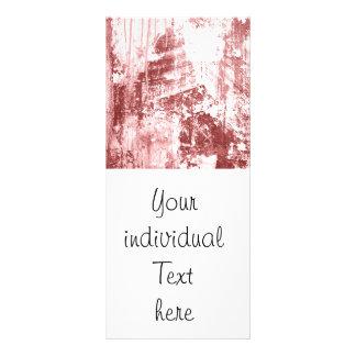 Pared sucia, rojo oxidado tarjetas publicitarias personalizadas