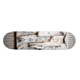 pared texturizada dominante tabla de patinar