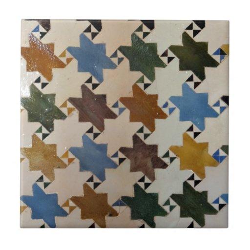 Pared Tile#5 de Alhambra Azulejo