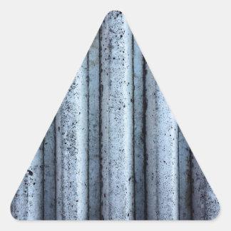 Pared urbana pegatina triangular