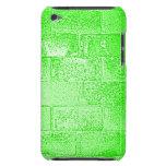 Pared verde. Digitaces Art. Barely There iPod Cobertura