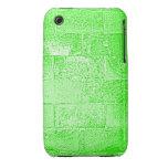 Pared verde. Digitaces Art. iPhone 3 Fundas