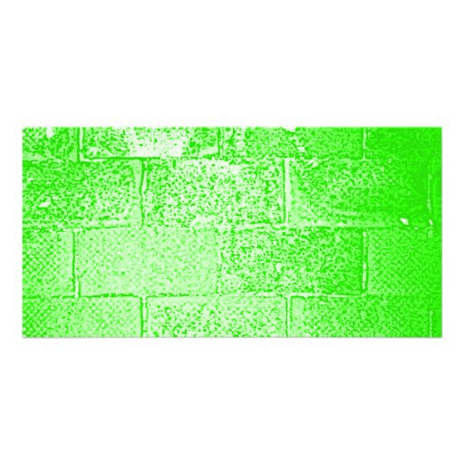Pared verde. Digitaces Art. Tarjeta Fotografica Personalizada