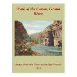Paredes de Canon, río magnífico (barranco) Postal