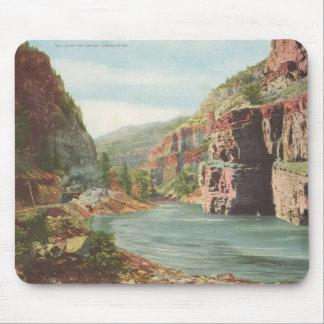 Paredes de Canon, río magnífico (barranco) Tapetes De Raton