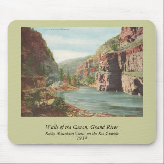 Paredes de Canon, río magnífico (barranco) Tapetes De Ratones