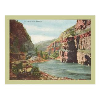 Paredes de Canon, río magnífico (barranco) Tarjetas Postales