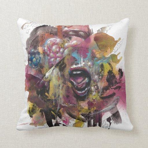 Pareidolia 1 pillow