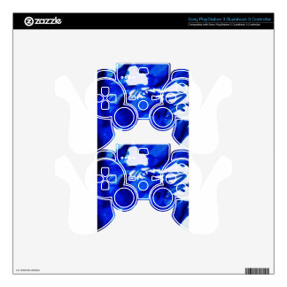 Pareidolia Decal For PS3 Controller