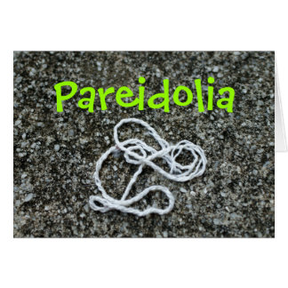 Pareidolic Rabbit Card