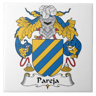 Pareja Family Crest Tile