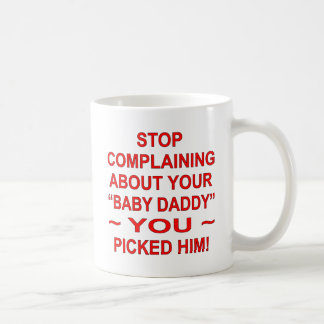 Párele quejándose por su papá del bebé selección taza