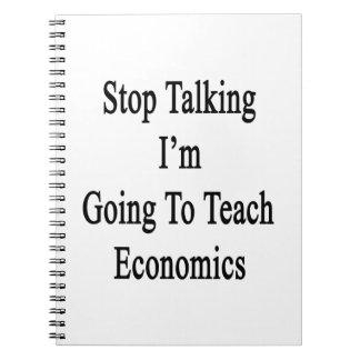 Páreme el hablar van a enseñar a la economía libro de apuntes