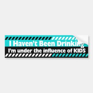 Parent Humor Car Bumper Sticker