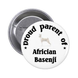 Parent of an Africian Basenji Dog Buttons