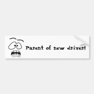 Parent of New Driver Bumper Sticker