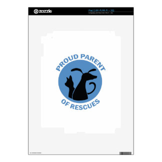 PARENT OF RESCUES iPad 2 DECAL