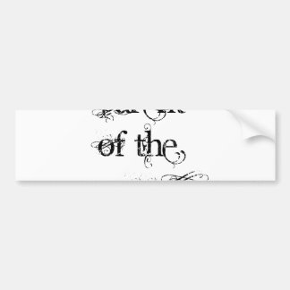 Parent of the Groom Bumper Sticker